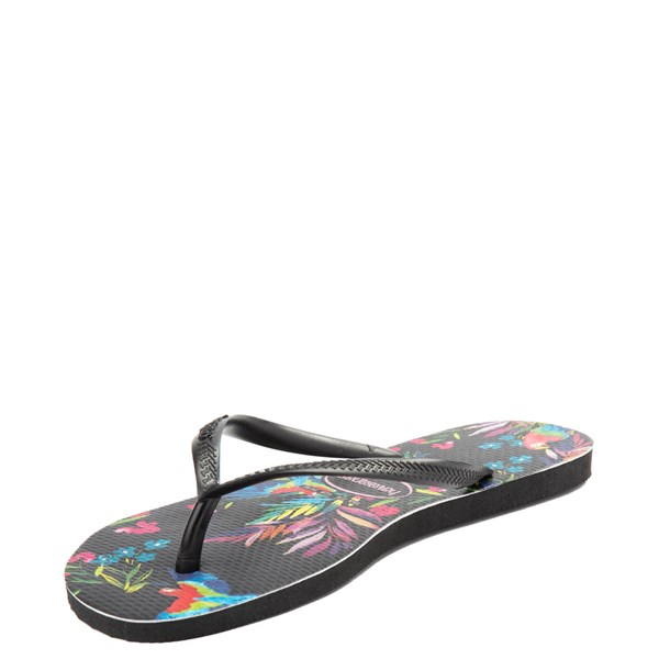 alternate view Womens Havaianas Slim Sandal - MultiALT3