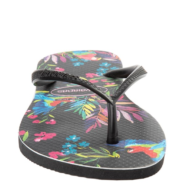 alternate view Womens Havaianas Slim Sandal - MultiALT4