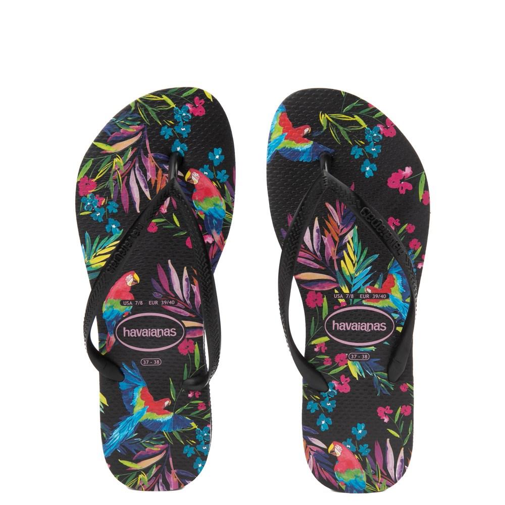 Womens Havaianas Slim Sandal - Multi