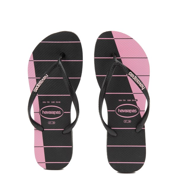 Womens Havaianas Slim Stripes Sandal