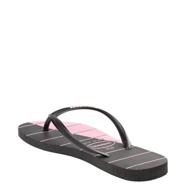 alternate view Womens Havaianas Slim Stripes SandalALT2