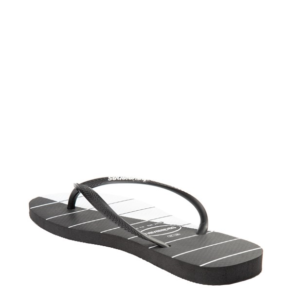 alternate view Womens Havaianas Slim Stripes SandalALT2