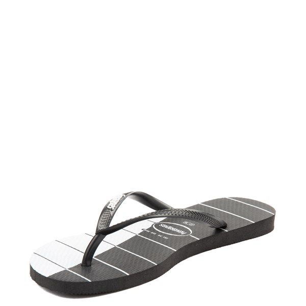 alternate view Womens Havaianas Slim Stripes SandalALT3