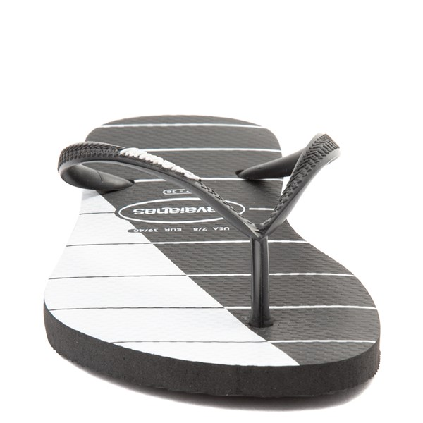 alternate view Womens Havaianas Slim Stripes SandalALT4