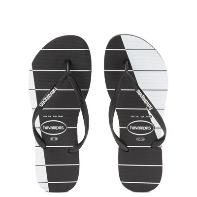 Main view of Womens Havaianas Slim Stripes Sandal