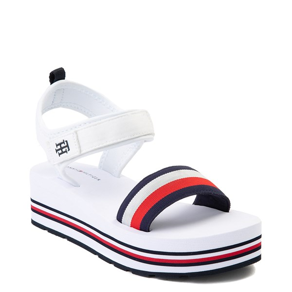 alternate view Womens Tommy Hilfiger Ansley Platform Sandal - WhiteALT1