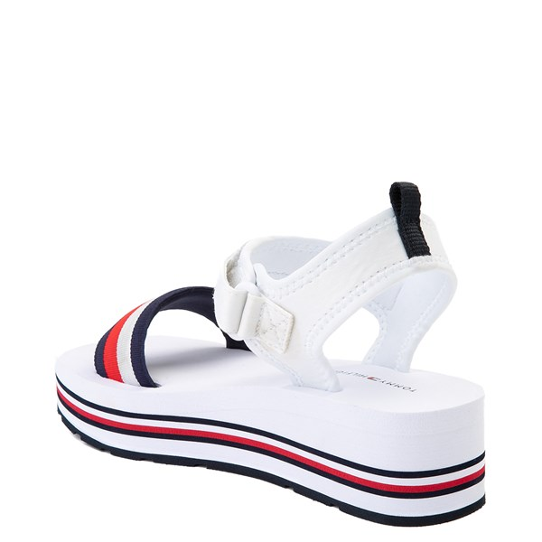 alternate view Womens Tommy Hilfiger Ansley Platform Sandal - WhiteALT2