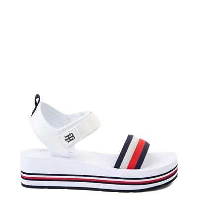 Main view of Womens Tommy Hilfiger Ansley Platform Sandal - White
