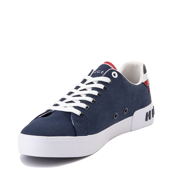 alternate view Mens Tommy Hilfiger Rezz Casual Shoe - NavyALT2