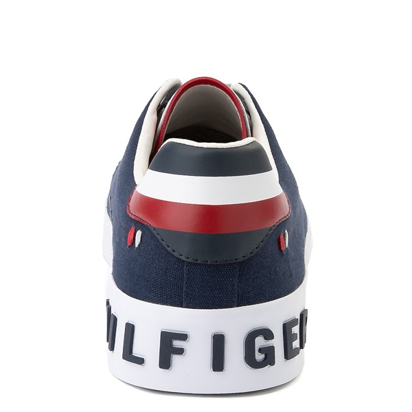 alternate view Mens Tommy Hilfiger Rezz Casual Shoe - NavyALT4