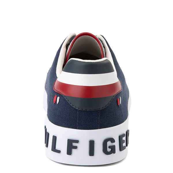 alternate view Mens Tommy Hilfiger Rezz Casual Shoe - NavyALT6