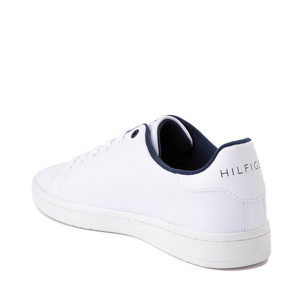 alternate view Mens Tommy Hilfiger Lendar Casual Shoe - WhiteALT1