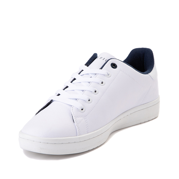 alternate view Mens Tommy Hilfiger Lendar Casual Shoe - WhiteALT2