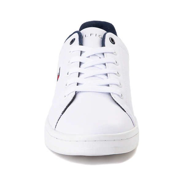 alternate view Mens Tommy Hilfiger Lendar Casual Shoe - WhiteALT4