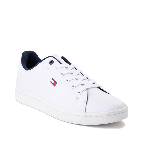 alternate view Mens Tommy Hilfiger Lendar Casual Shoe - WhiteALT5