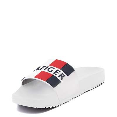 Alternate view of Mens Tommy Hilfiger Romey Slide Sandal - White