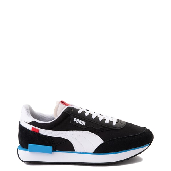 Mens Puma Future Rider Play On Athletic Shoe - Black /  White / Red