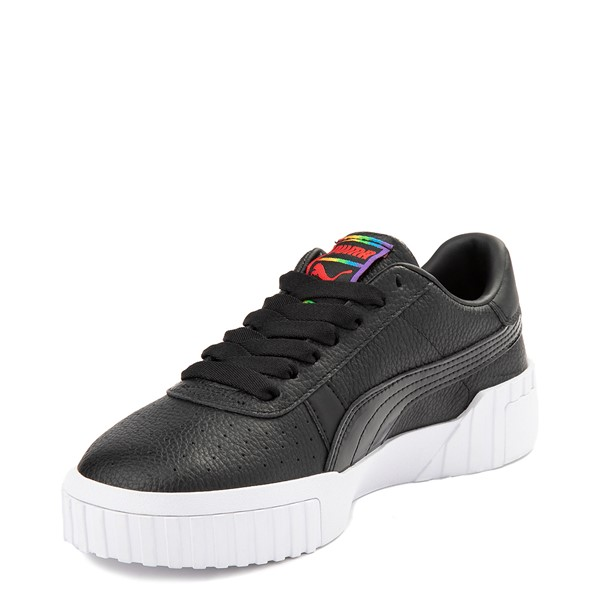 alternate view Womens Puma Cali Fashion Athletic Shoe - BlackALT2