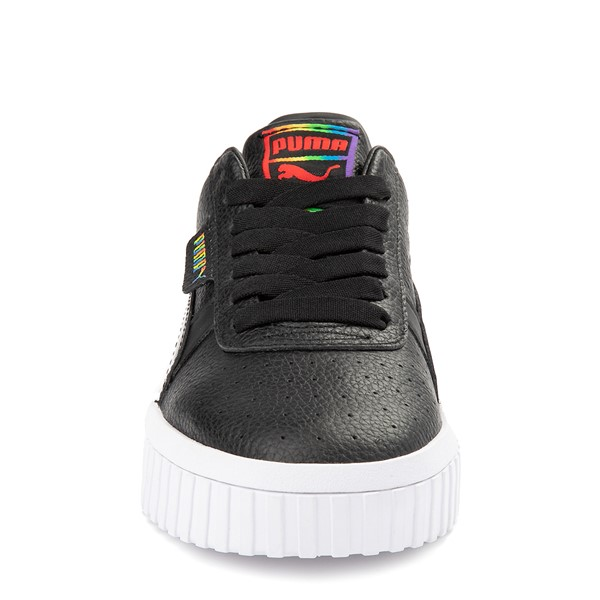 alternate view Womens Puma Cali Fashion Athletic Shoe - BlackALT4
