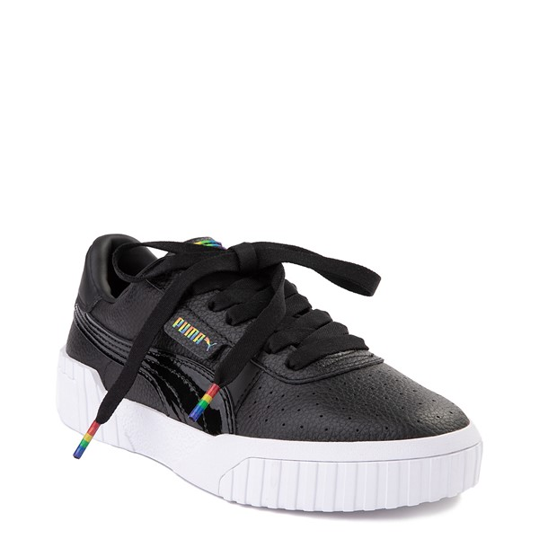 alternate view Womens Puma Cali Fashion Athletic Shoe - BlackALT5