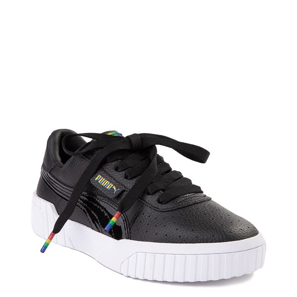 alternate view Womens Puma Cali Fashion Athletic Shoe - BlackALT6