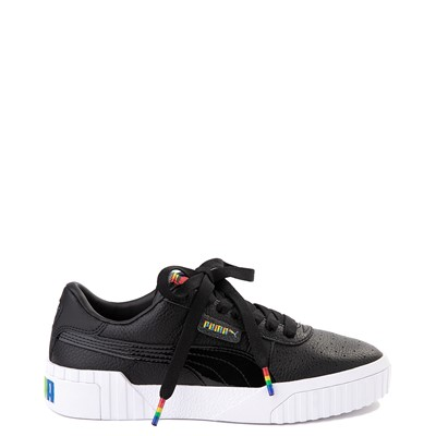 Main view of Womens Puma Cali Fashion Athletic Shoe - Black