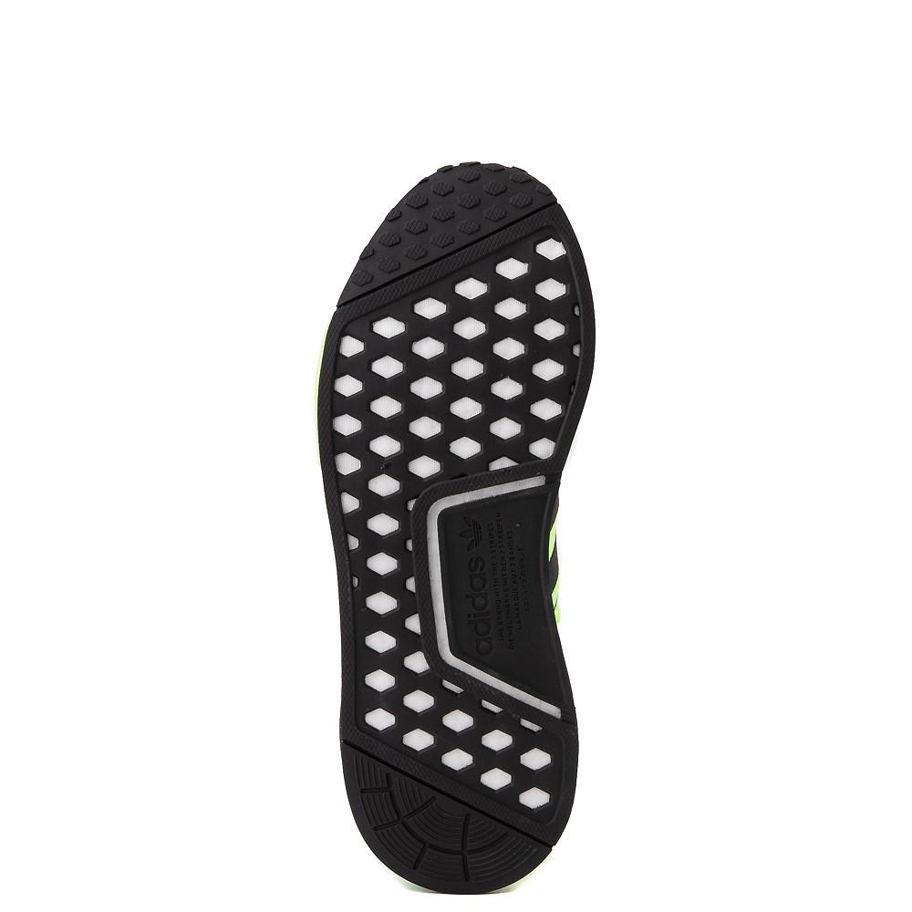 Mens adidas NMD R1 Signal Athletic Shoe Green