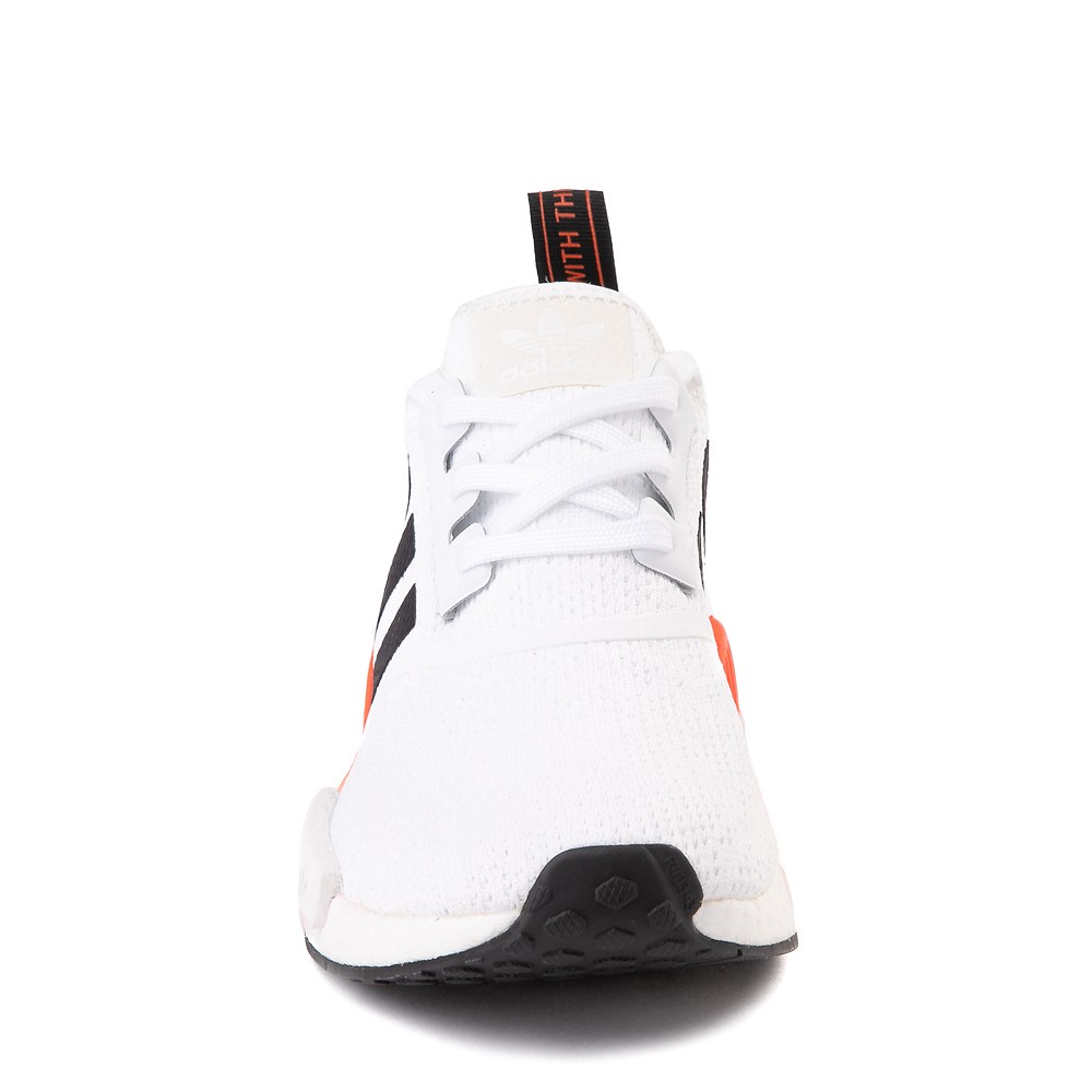 gerente escapar Preludio  Mens adidas NMD R1 Athletic Shoe - White / Solar Red / Black Fade | Journeys