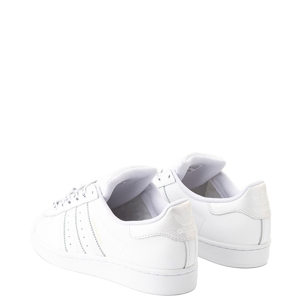alternate view Womens adidas Superstar Festival Athletic Shoe - White / PurpleALT1