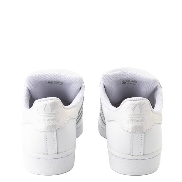 alternate view Womens adidas Superstar Festival Athletic Shoe - White / PurpleALT4