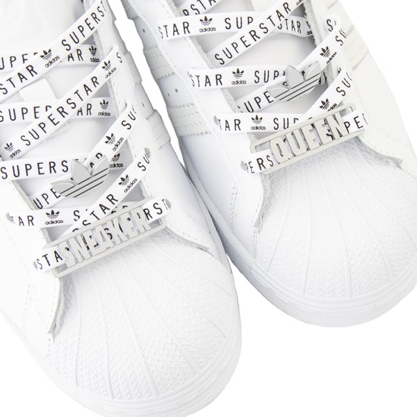 alternate view Womens adidas Superstar Festival Athletic Shoe - White / PurpleALT6