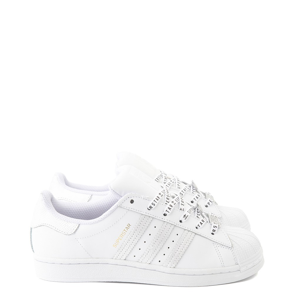 Womens adidas Superstar Festival Athletic Shoe - White / Purple