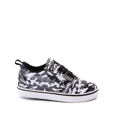 Main view of Heelys Pro 20 Skate Shoe - Little Kid / Big Kid - Gray Camo / Black