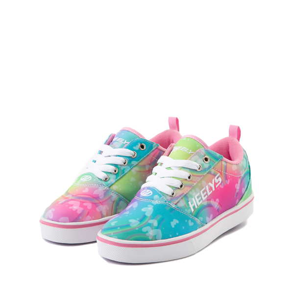 alternate view Heelys Pro 20 Tie Dye Rainbow Skate Shoe - Little Kid / Big Kid - MultiALT2