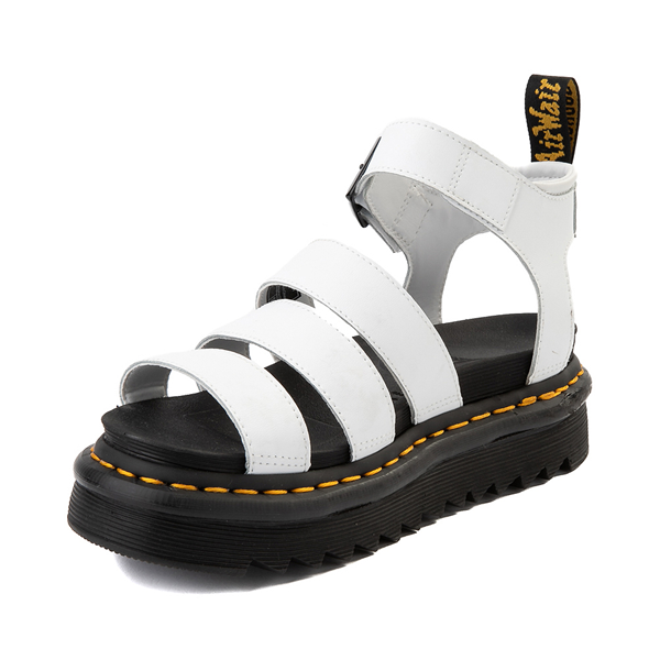 alternate view Womens Dr. Martens Blaire Sandal - WhiteALT2
