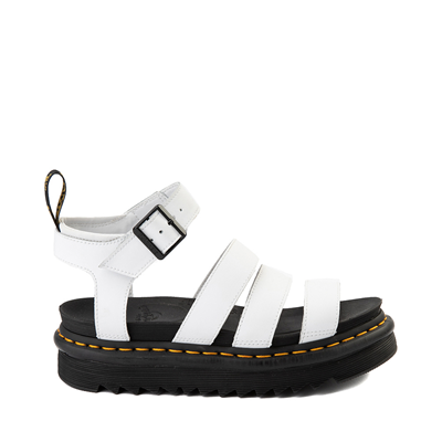 Main view of Womens Dr. Martens Blaire Sandal - White