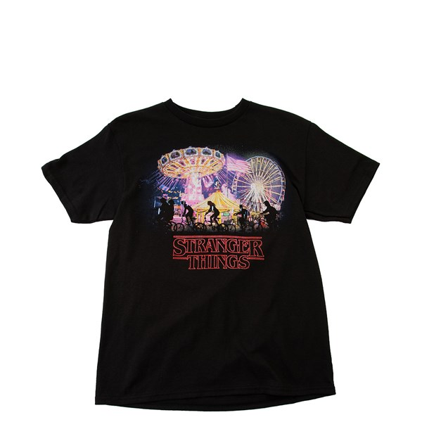 Main view of Stranger Things Tee - Little Kid / Big Kid - Black