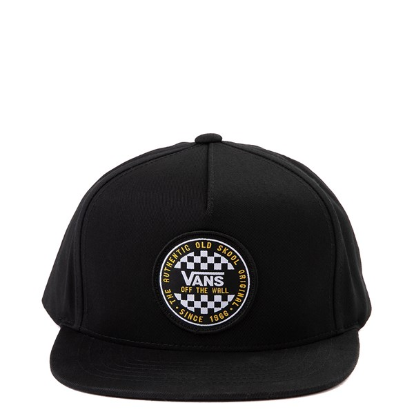 Vans OG Checkerboard Snapback Cap - Little Kid - Black