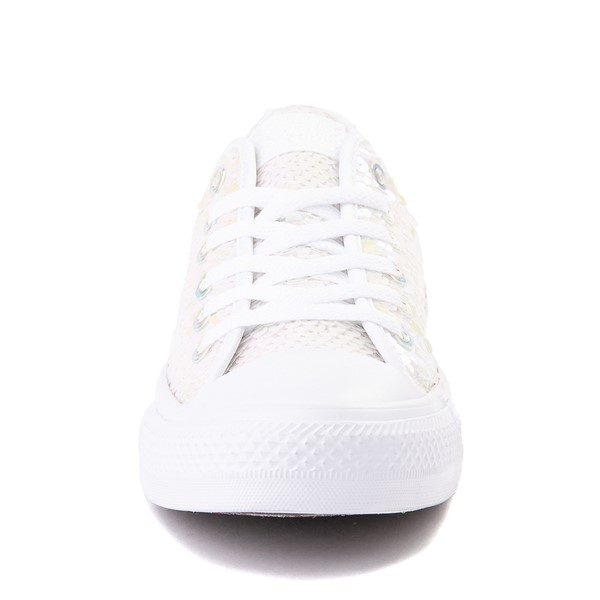 alternate view Converse Chuck Taylor All Star Lo Sequin Sneaker - White / MultiALT4