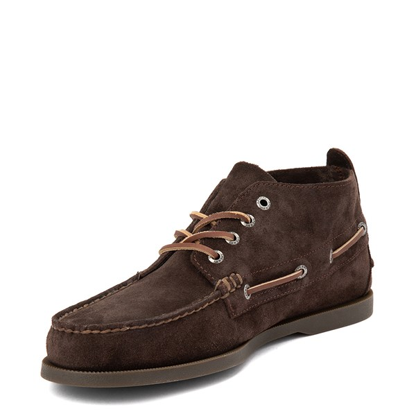 alternate view Mens Sperry Top-Sider Authentic Original Chukka Boot - BrownALT3