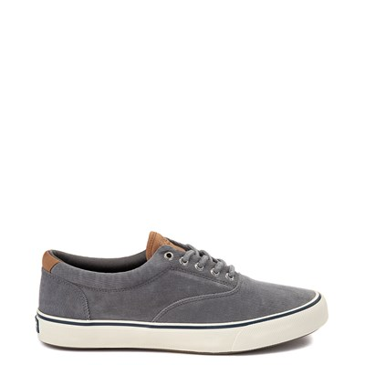 Main view of Mens Sperry Top-Sider Striper II Corduroy Casual Shoe - Gray