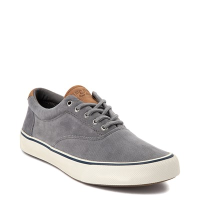 Alternate view of Mens Sperry Top-Sider Striper II Corduroy Casual Shoe - Gray