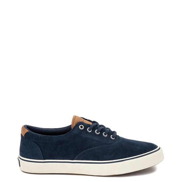 Mens Sperry Top-Sider Striper II Corduroy Casual Shoe - Navy