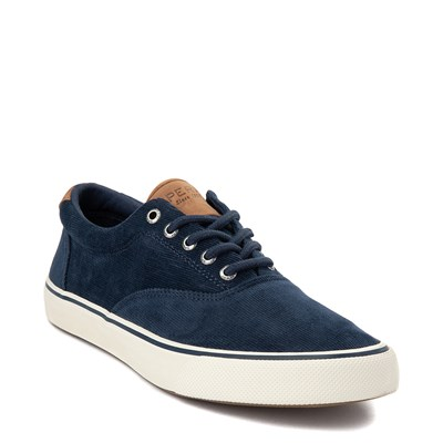 Alternate view of Mens Sperry Top-Sider Striper II Corduroy Casual Shoe - Navy