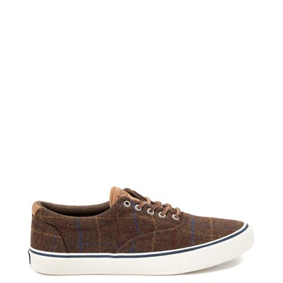 Main view of Mens Sperry Top-Sider Striper II Wool Casual Shoe - Brown / Plaid