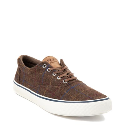 Alternate view of Mens Sperry Top-Sider Striper II Wool Casual Shoe - Brown / Plaid