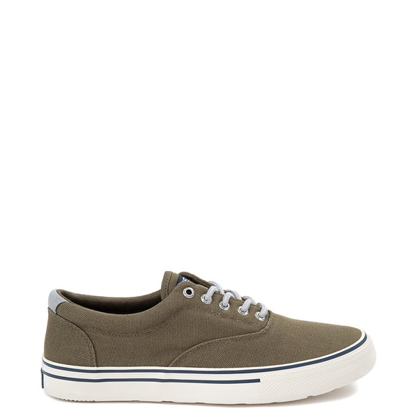 Mens Sperry Top-Sider Striper II Storm Casual Shoe - Olive