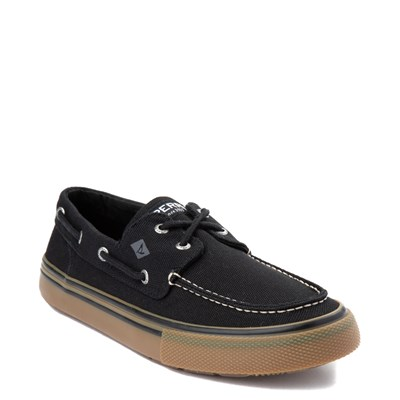 Alternate view of Mens Sperry Top-Sider Bahama II Storm Casual Shoe - Black