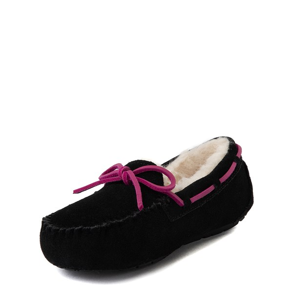 alternate view UGG® Dakota Slipper - Little Kid / Big Kid - BlackALT3