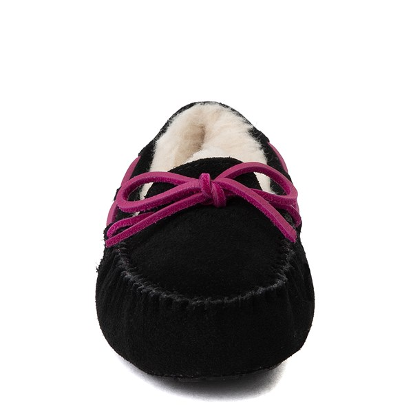 alternate view UGG® Dakota Slipper - Little Kid / Big Kid - BlackALT4